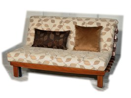 Оригинальный диван на механизме аккордеон Фьюжн Вуд Осенние листья