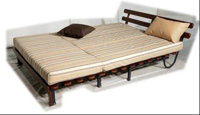 Кровать складная PRIMILLA со спинкой