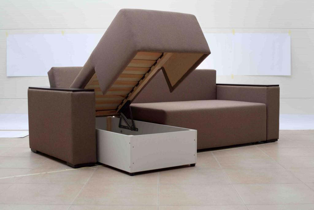 фото каркаса углового дивана