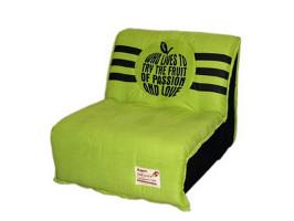 Объемный диван раскладывается в полноценную кровать