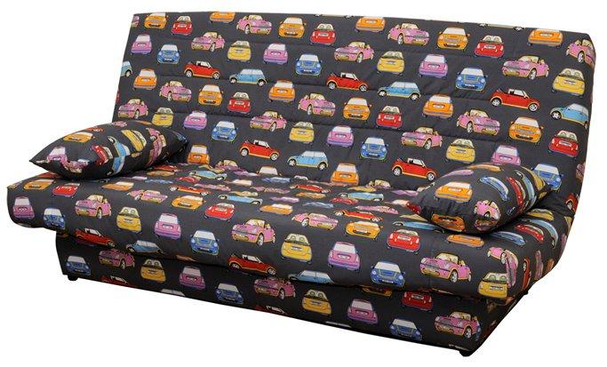 Детский диван-кровать c ортопедическими свойствами матраса