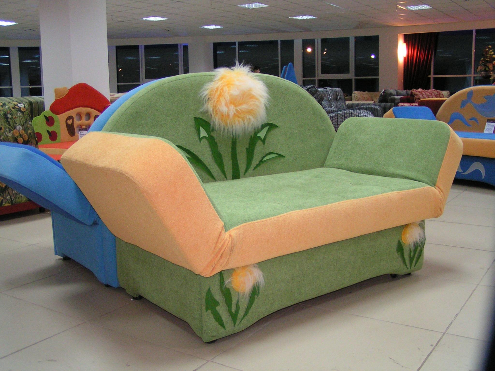 Раскладные диваны для детей фото