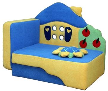 Детские игровые диваны со встроенным